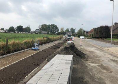 Bocholt - Kallerstraat - omgevingswerken1