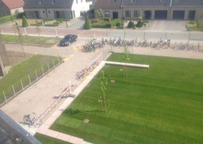 Bocholt - Lozen kerk en school3 omgevingwerken