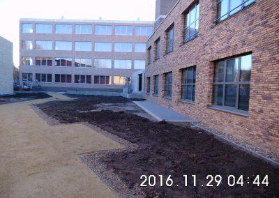 Hasselt - Zonnestraal1 - omgevingswerken