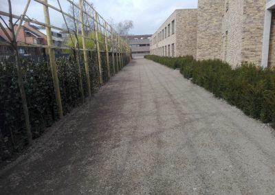 Hasselt - Zonnestraal5 - omgevingswerken