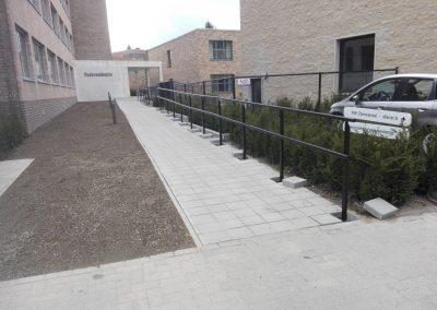Hasselt - Zonnestraal6 - omgevingswerken