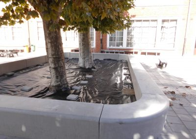 Heusden - St Franciscuscollege omgevingswerken1