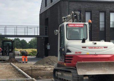 Notaris Houben - Diepenbeek - omgevingswerken